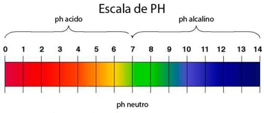 Escala del PH de la piel