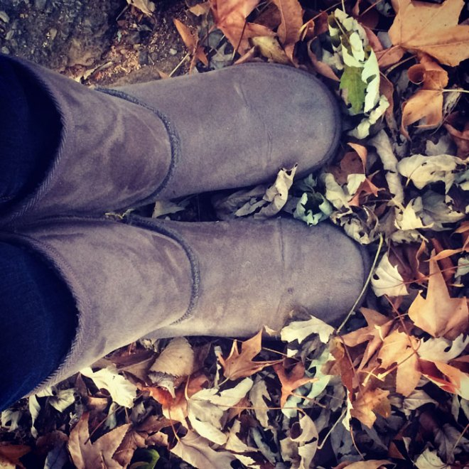 gray-boots-in-leaves