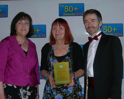 Tony O'Shea-Poon at the 50 Plus awards