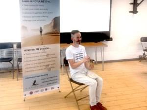 Mindful Me - Tony O'Shea-Poon talks about mindful activism