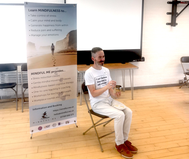 Mindful Me - Tony O'Shea-Poon talks about mindful activism