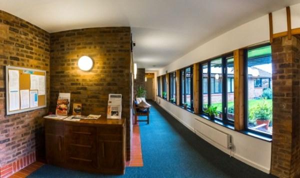 quaker centre hallway