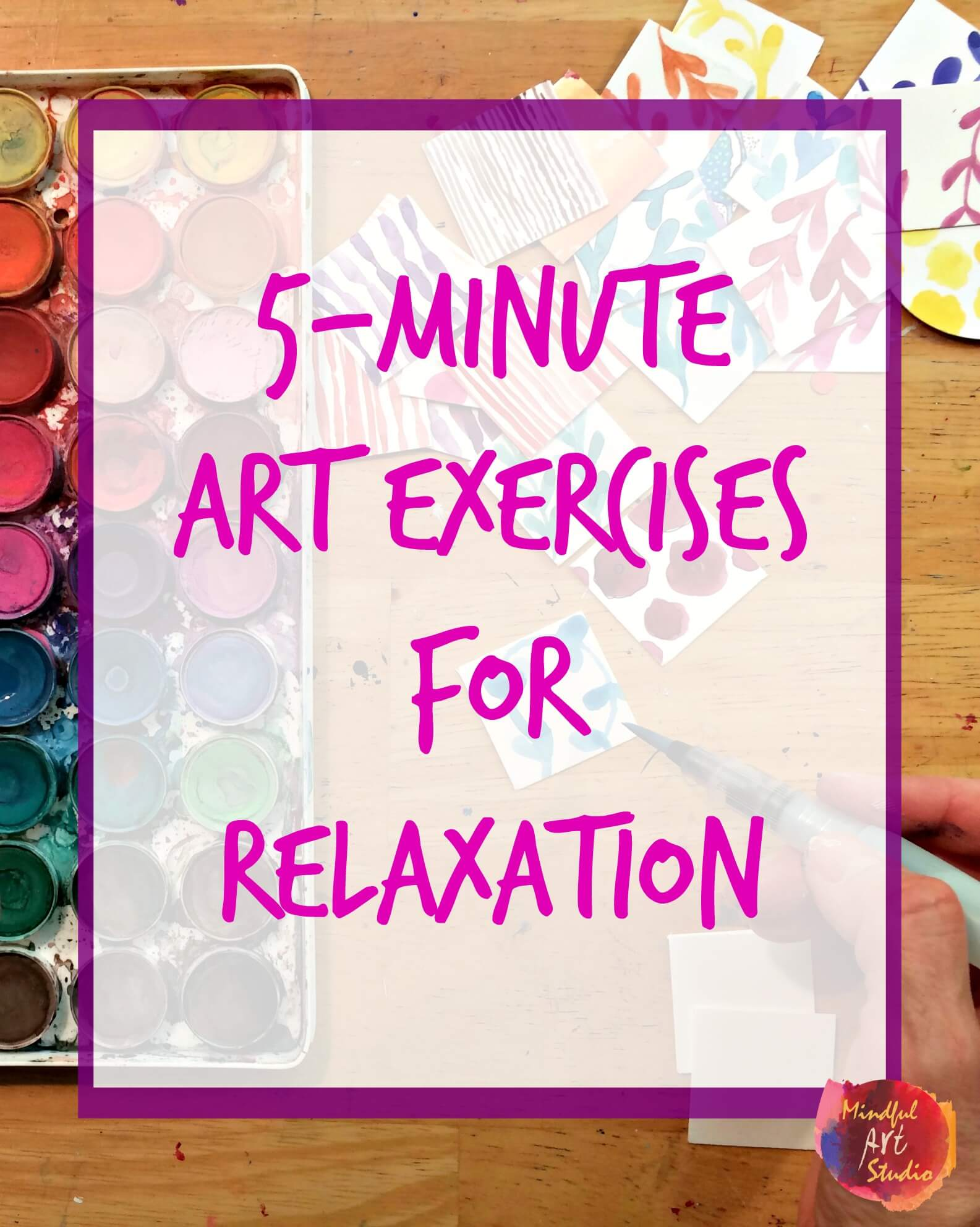 5 For 5 Self Care Challenge Draw Or Paint