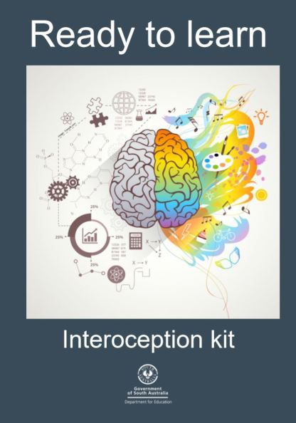 cover of ready to learn interoception kit