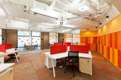 Cyberport Smart Space Office Interior In Hong Kong