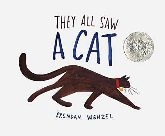 Five Books They All Saw a Cat