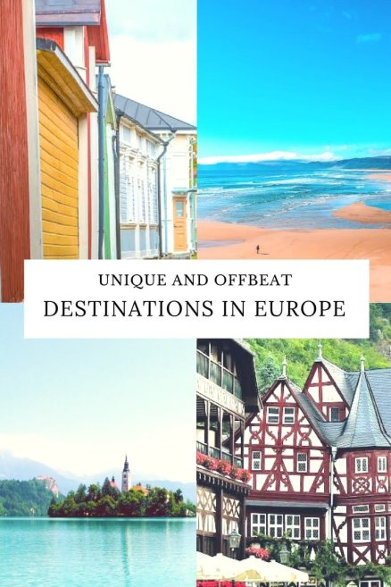 Europe Travel, offbeat destinations