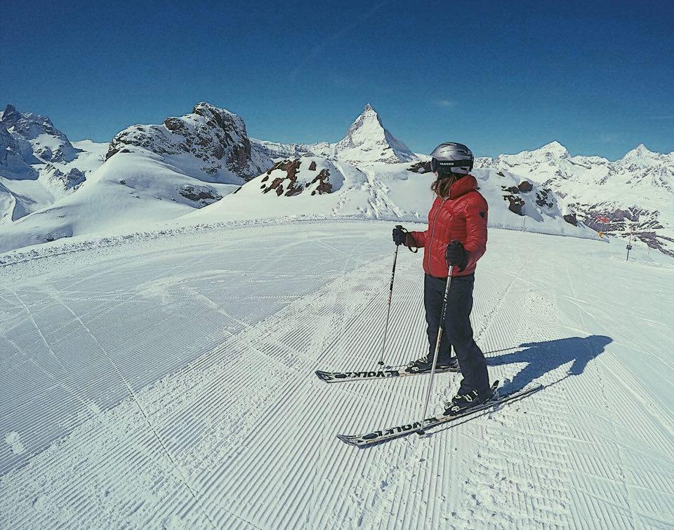 Ski Zermatt Matterhorn Switzerland