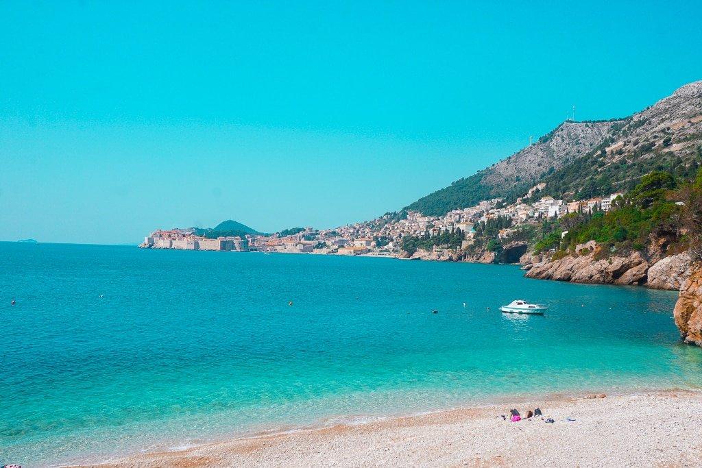 Sveti Javoc Beach in Dubrovnik