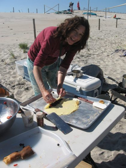 camping food: homemade fruit crepes www.mindfulmomma.com