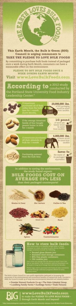 BIG Earth Month Infographic www.mindfulmomma.com
