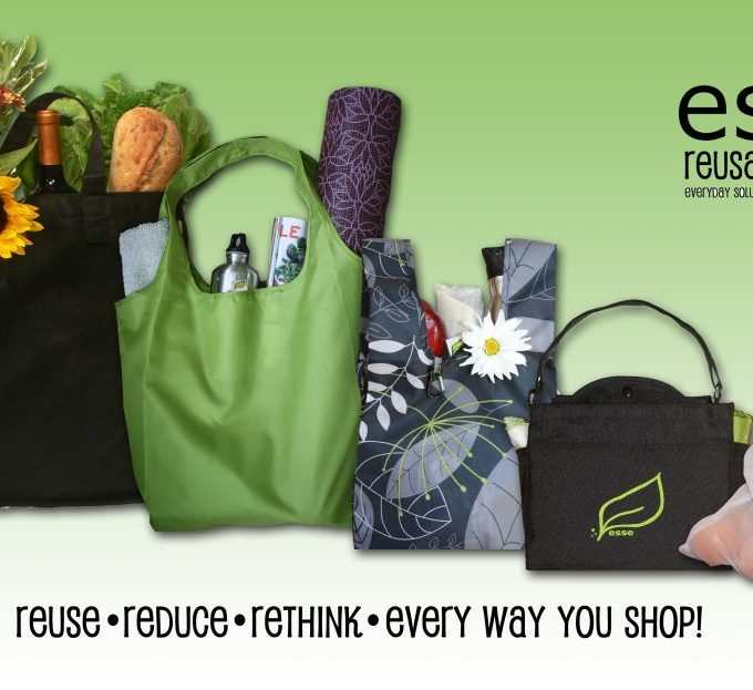 Esse reusable bags giveaway www.mindfulmomma.com