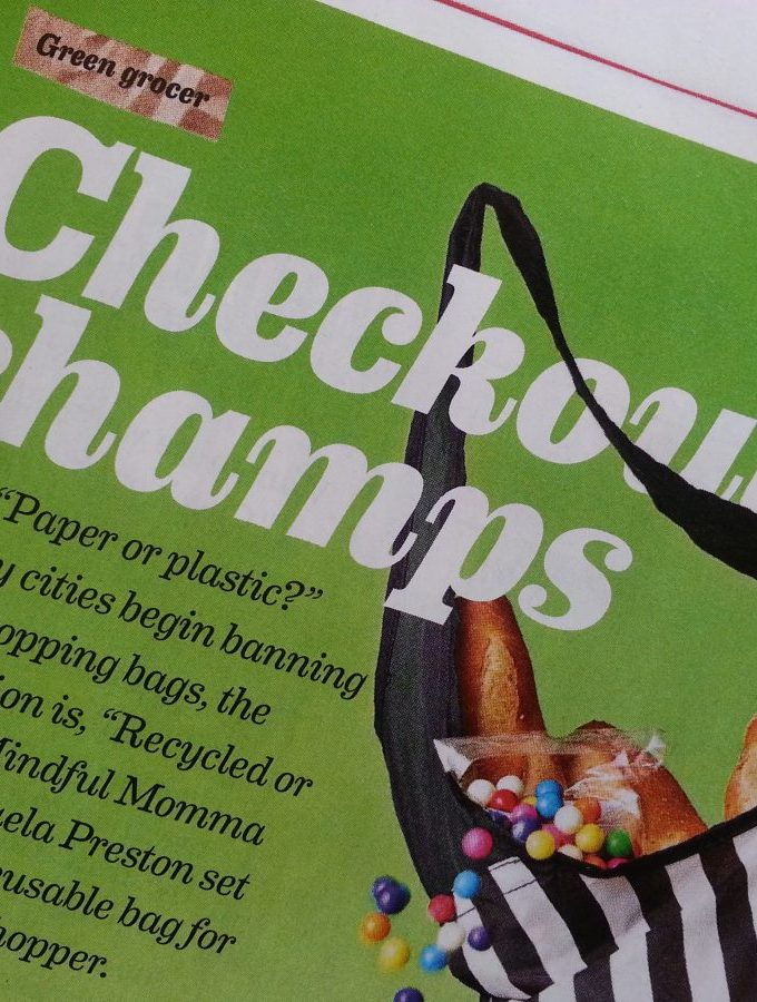 Mindful Momma in Every Day with Rachael Ray Magazine!!