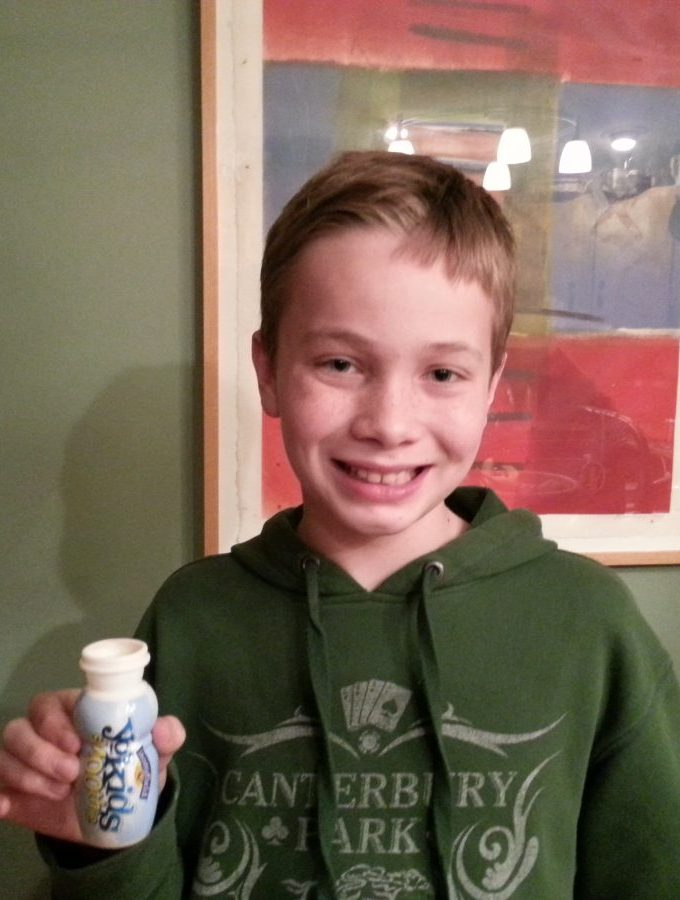 On the Moo-ve all Winter with Stonyfield Smoothies