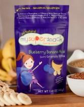 My Super Snack blueberry banana acai via mindfulmomma.com