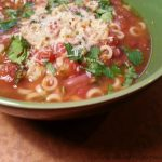 Easy Juicer Pulp Minestrone Soup Recipe