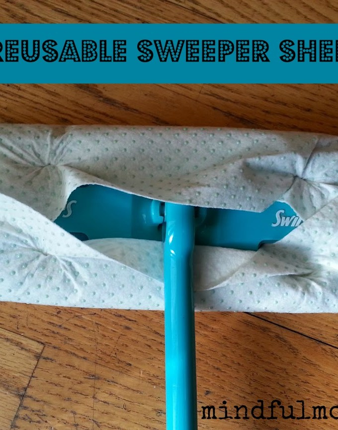 Take That, Swiffer®! (Reusable Sweeper Sheets Replace Disposable)