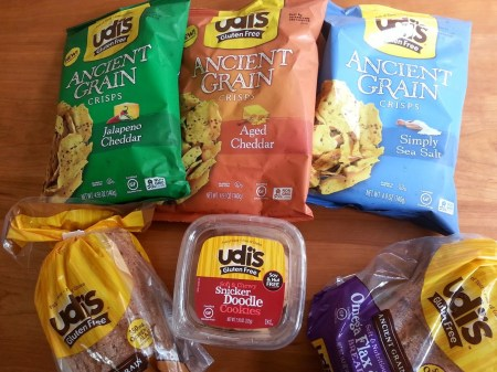 Udi's gluten free products via mindfulmomma.com