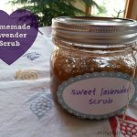 Homemade Lavender Hand & Body Scrub