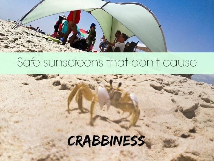 Safe Sunscreens that Rub in Easily via mindfulmomma.com