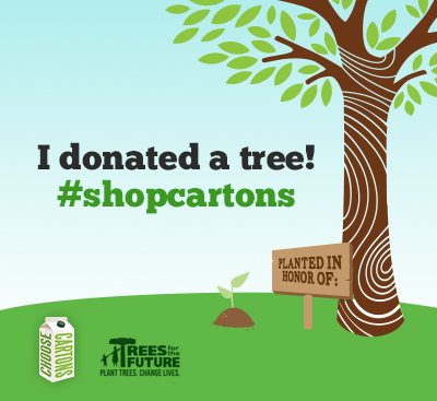 Tweet #shopcartons to Save Trees This Month