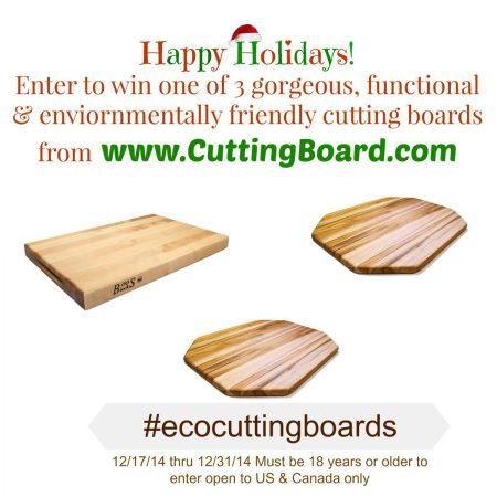 Cutting Board Giveaway via mindfulmomma.com
