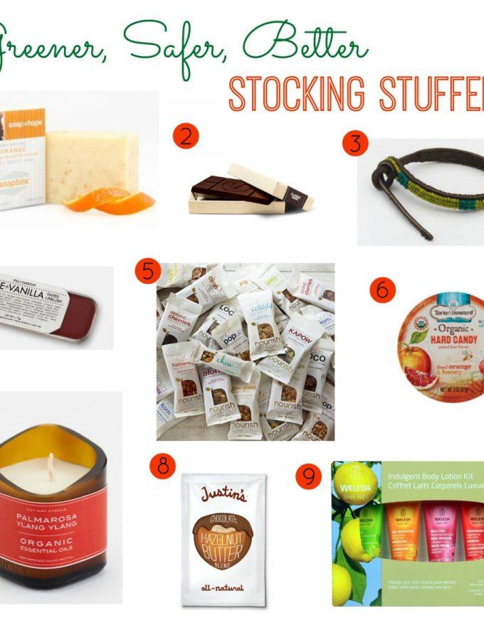 Greener, Safer, Better Stocking Stuffers