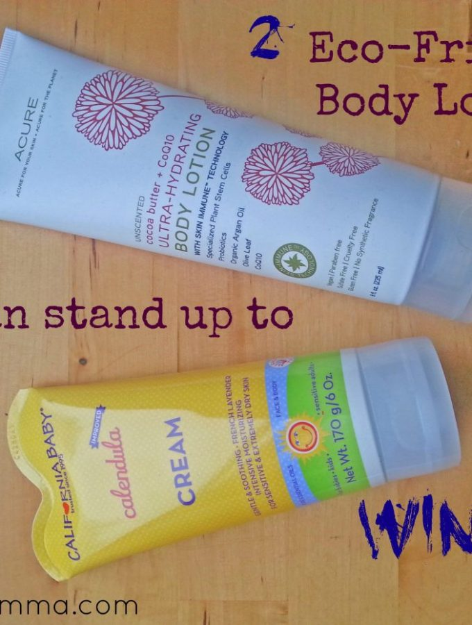 2 Eco Body Lotions via mindfulmomma.com