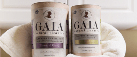 Gaia cleaning products via mindfulmomma.com
