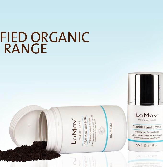 NEW: Organic Body Range from La Mav for Nourished Skin