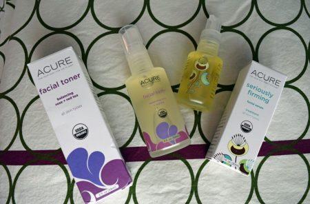Acure products via mindfulmomma.com