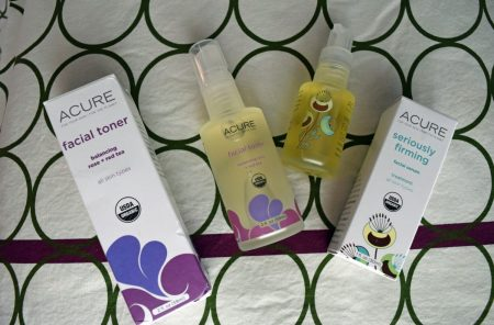 Acure products via mindfulmomma.com