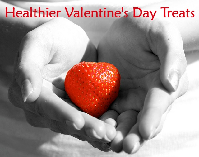 Healthy but Still SWEET Treats for Valentine's Day