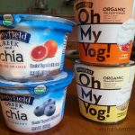 NEW From Stonyfield: Oh My Yog! and Greek & Chia