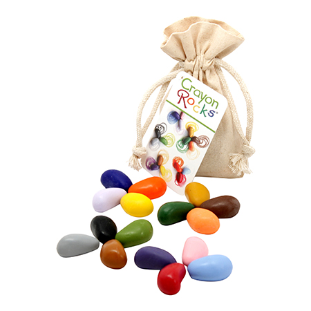 Crayon rocks and other candy free Easter gifts