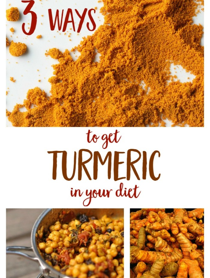 3 Ways to Get Turmeric in Your Diet