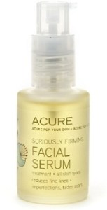 Acure Seriously Firming Facial Serum via mindfulmomma.com