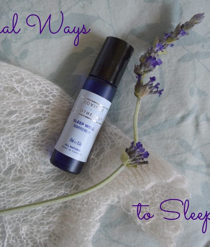 Natural Ways to Sleep Well via mindfulmomma.com