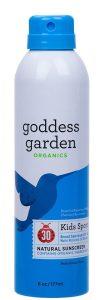 Goddess Garden Continuous Spray Sunscreen
