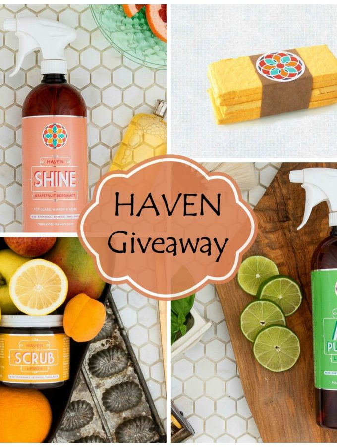 Haven Home Care Products GIVEAWAY!