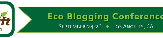 Speaking at #ShiftCon Eco Blogging Conference