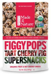 FiggyPops Tart Cherry Supersnacks and other organic snacks
