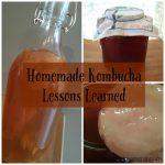 Mistakes I've Made Brewing Kombucha and the Method that Works for Me