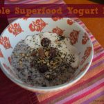 Recipe: Simple Superfood Yogurt Bowl