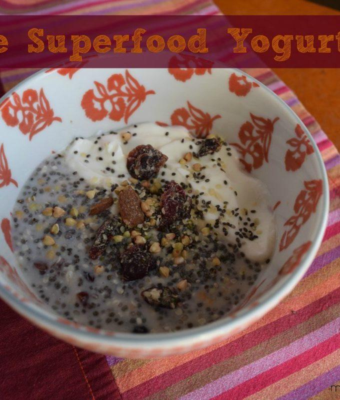 Simple Superfood Yogurt Bowl