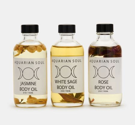 Aquarian Soul Body Oil Trio