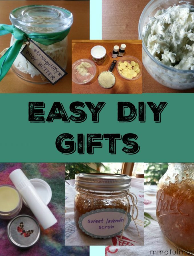 Easy DIY Gifts