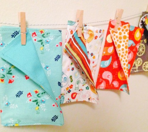 Reusable cloth lunchbox napkins and other practical, reusable gifts