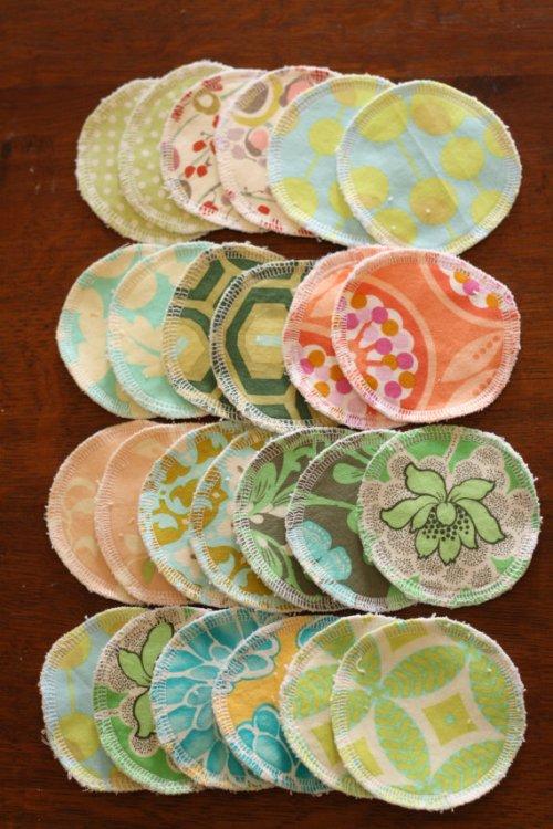 Reusable makeup pads and other practical, reusable gifts