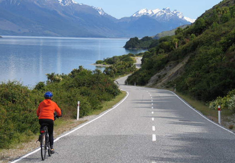 Where's Mindful Momma? Biking in New Zealand!